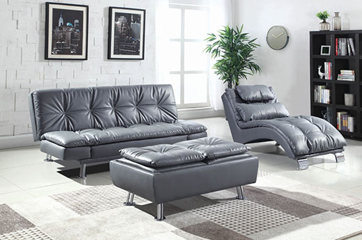 Dilleston Grey Sofa Bed Room Affordable Portables