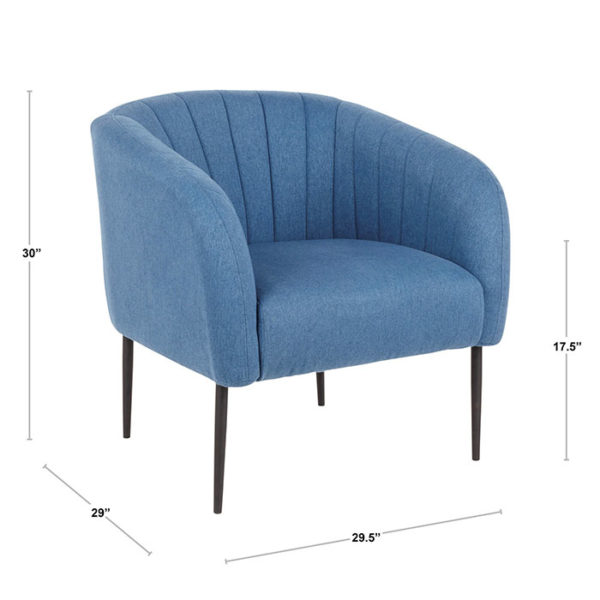 Renee Chair Dimensions Blue Affordable Portables