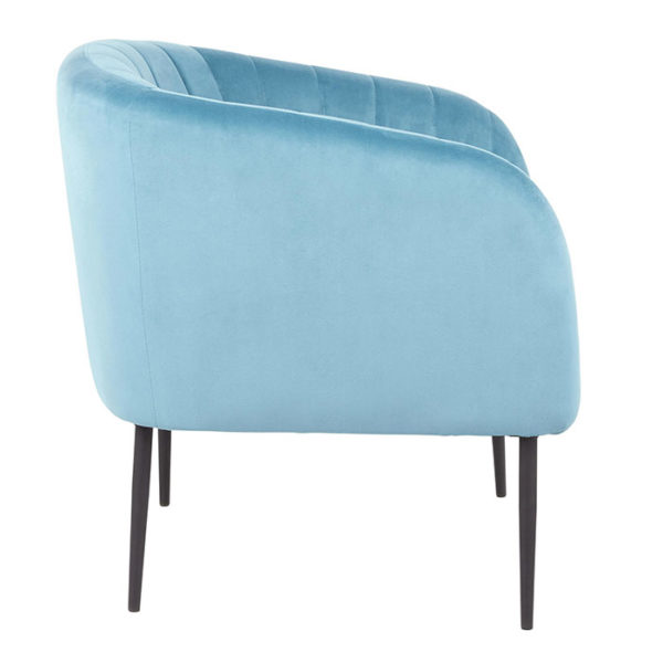Renee Chair Side Turquoise Affordable Portables