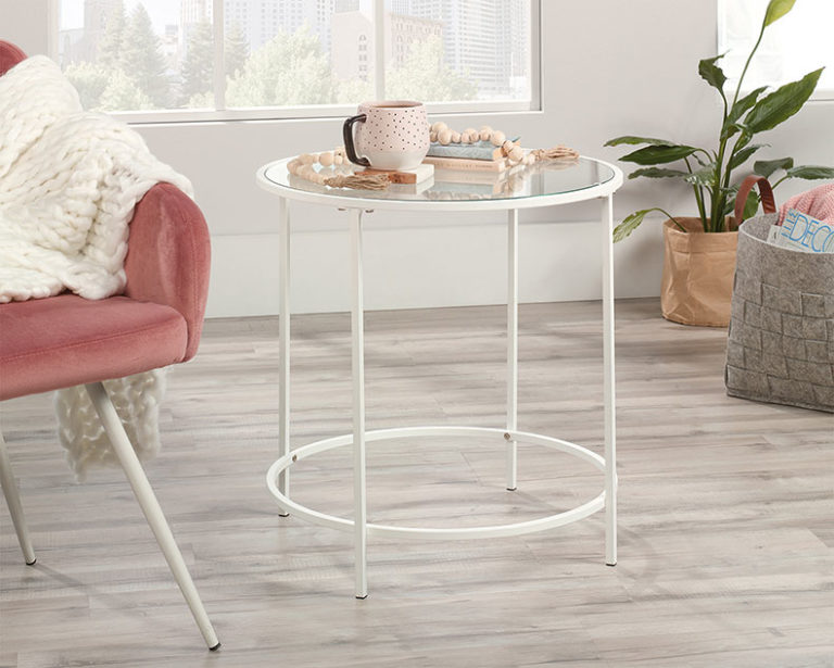 Round Side Table- Affordable Portables