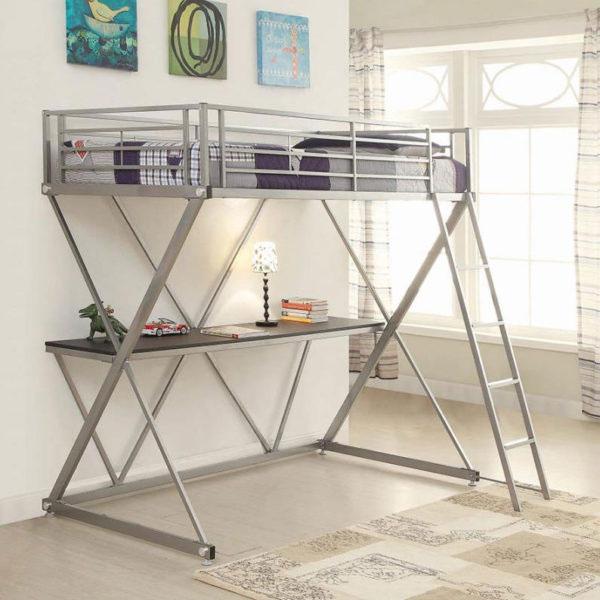 Bunk Bed Desk Affordable Portables Chicago