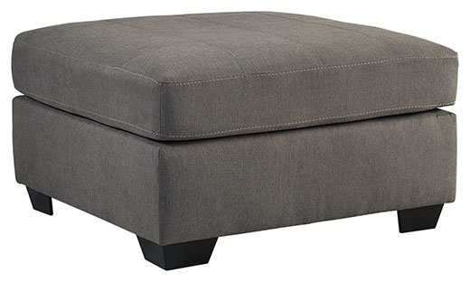 Maier Ottoman Charcoal Affordable Portables Chicago
