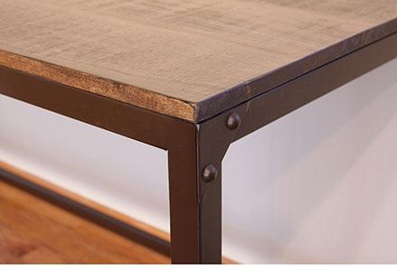 Urban Gold Desk Affordable Portables Chicago detail