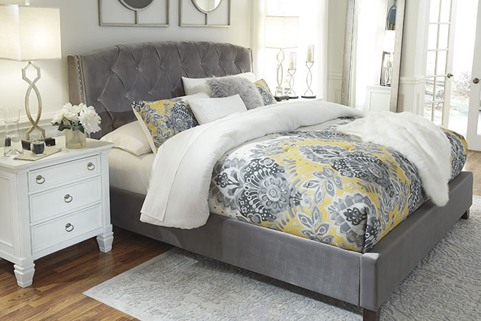 Bed Grey Affordable Portables Chicago