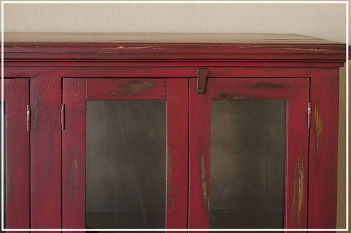 Red Console Affordable Portables Chicago
