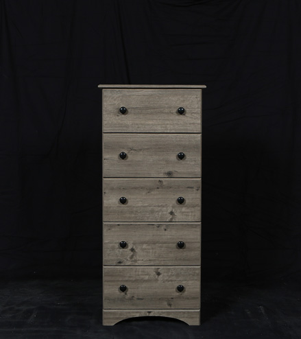 5 Drawer Chest Gray Affordable Portables Chicago and Evanston
