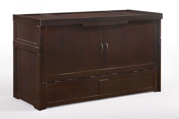 Murphy Cube 2 Bed in Chocolate - Affordable Portables
