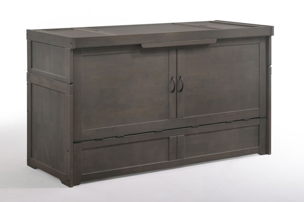 Murphy Cube 2 Bed in Stonewash - Affordable Portables