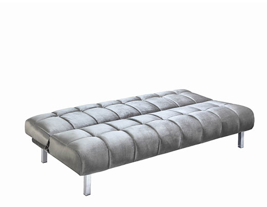 Silver Sofa Bed at Affordable Portables in Chicago and Evanston