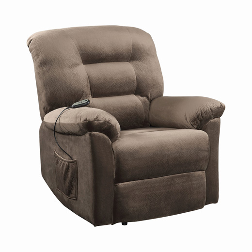 Brown Suger Recliner Affordable Portables