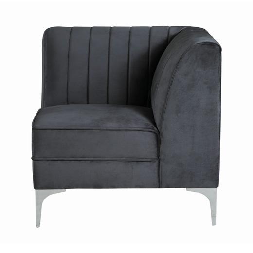 Cassandra Corner Chair Side Affordable Portables