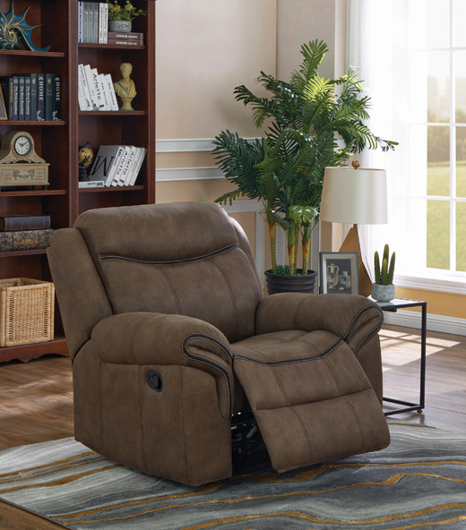 Sawyer Recliner in Macchiato Affordable Portables